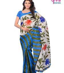 Buy Adorable party wear fancy designer saree art-silk-saree online
