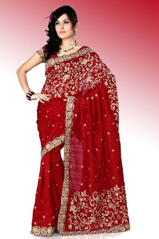 Silk Sarees in Delhi Bhagalpuri Silk Saree With