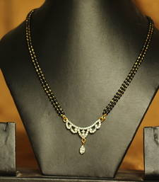 Buy Gold diamond mangalsutra mangalsutra online