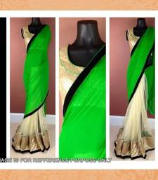 Buy GREEN PALLU SAREE other-actress-saree online