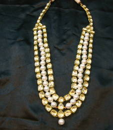 Buy Design no. 8 b.1326....Rs. 15800....Pre order jewellery. Will be made in 15 days after payment. necklace-set online