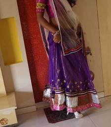 Buy purple and white lahenga choli online lehenga-choli online