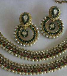 Buy Designer Traditional Earings with Stylish Anklets anklet online