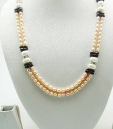 Buy Beautiful Designer Pearl Set of Necklace It is perfect for your all occassions. Necklace online