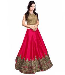 Blue and pink indian wedding dresses