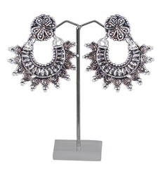 multi oxidized earring shop online