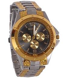 Buy New Fashion Silver and golden color stylist Boy's wear Wristwatch gifts-for-brother online
