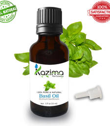 Buy Basil essential oil (15ml) 100% pure natural and undiluted oil essential-oil online