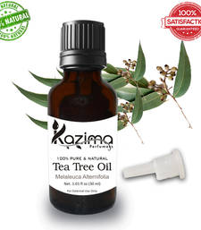 Buy Tea tree essential oil (30ml) 100% pure natural and undiluted oil essential-oil online
