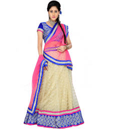 Designer Yellow n pink Kali 100 Lehenga Choli with Dupatta shop online