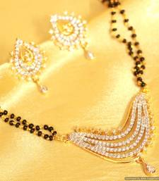 Buy Gold & Diamond Look Mangalsutre mangalsutra online