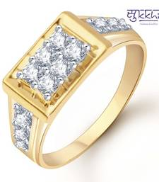 Buy Sukkhi Gold and Rhodium Plated CZ Ring for Men(103GRK510) gifts-for-him online