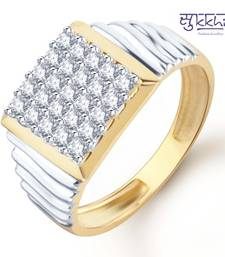 Buy Sukkhi Gold and Rhodium Plated CZ Ring for Men(114GRK700) gifts-for-him online