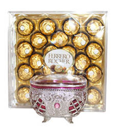 Buy Ferrero Rocher with Dry Fruits container diwali-chocolate online