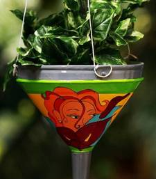 Buy hand painted funnel. fp hl pot online