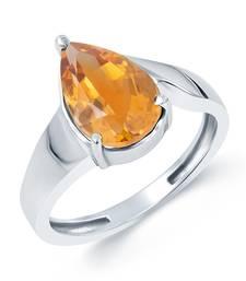 Buy Small Golden Topaz Ring