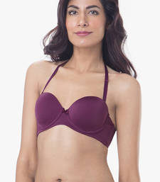 Buy Multicolor cotton others bra push-up-bra online