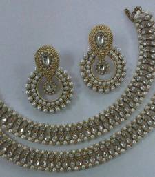Designer Earings with Traditional Anklets shop online