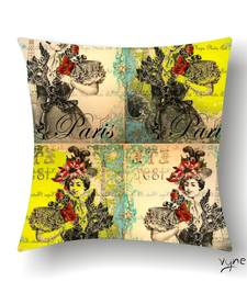 Buy VINTAGE PARIS CUSHION pillow-cover online