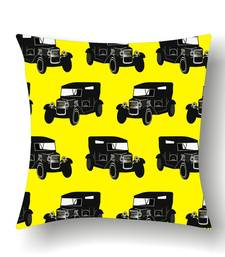 Buy BLACK TAXI CUSHION pillow-cover online