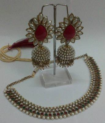 Buy Pearl Pearl Amp Only Pearl Necklace Set Online