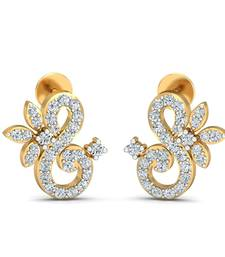Buy 0.41ct diamond studs 18kt gold earrings gemstone-earring online