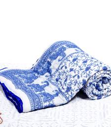 Buy Pure Cotton Mughal print Ac Quilt gifts-for-mom online
