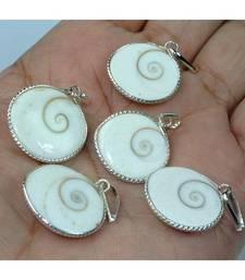Buy Gomti chakra spiral set of 5 pendant prosperity chakra healing jewellery other-gemstone online
