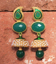 Buy antiqueearringno165 danglers-drop online