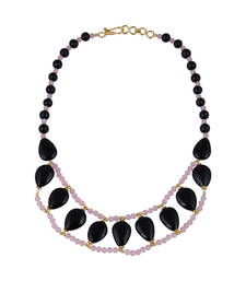 Buy   Chick gemstone beads necklace for women gemstone-necklace online