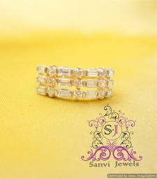 Buy Unique American Diamond Look Ring Ring online