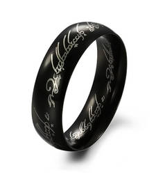 Wedding Band Rings the Hobbit and the lord of the rings Fashion Jewelry shop online