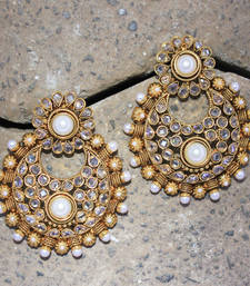 Buy polkiearringno225 danglers-drop online