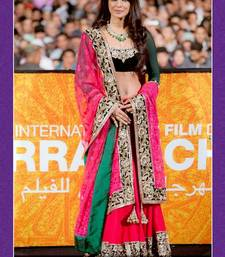 Buy Priyanka chopra in beautiful pink designer Lehenga bridal-lehenga online