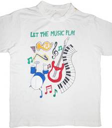 Buy LET THE MUSIC PLAY - T-SHIRT men-tshirt online