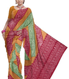 Buy Exclusive Kota Doria Pure Cotton Saree Blouse -155 cotton-saree online