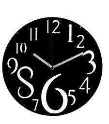 Buy Dashing Black Huge Numeral Wall Clock wall-clock online