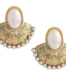 Buy Gold studded jewellery studs stud online