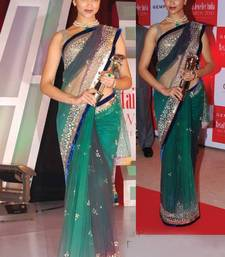 Buy Deepika Padukone Indian traditional bollywood saree, designer saree, party wear saree, facny saree. deepika-padukone-saree online
