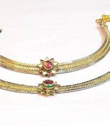 Buy Queen's royal bridal anklet no 1001 anklet online