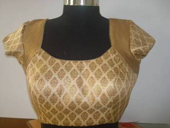 Zari Blouse Pattern 50