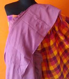 Buy mauve saree cotton-silk-saree online