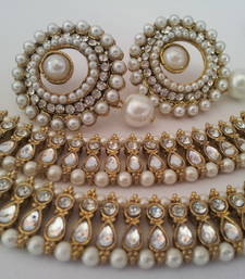 Buy Designer Earings with Traditional Anklets hoop online