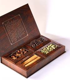 Buy Flavourit book of spices in ( unique whole spices in a box) masala-spice-mix online