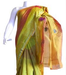 Buy Banarasi Art Silk Saree With Emroidery banarasi-silk-saree online
