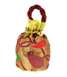 Buy Goldencollections Designer Hand Pouch potli-bag online