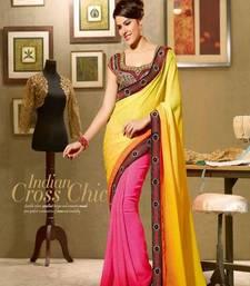 Buy party wear half saree wedding-saree online