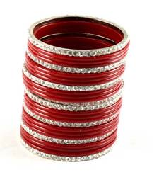 Buy Red bangles set bangles-and-bracelet online