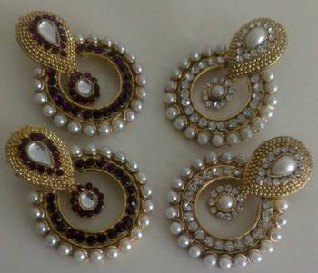 Get 2 pairs @ Price of 1 Look a like Ram Leela Earings