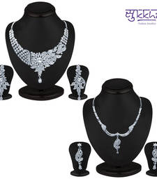 Buy Sukkhi Exotic 2 Piece Necklace Set Combo(206CB3000) jewellery-combo online